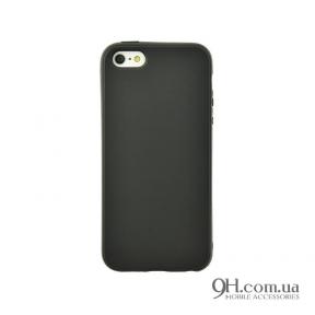 Чехол-накладка TPU для iPhone 5 / 5s / SE Black