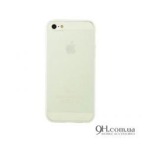 Чехол-накладка TPU для iPhone 5 / 5s / SE White