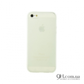Чехол-накладка TPU для iPhone 5C White
