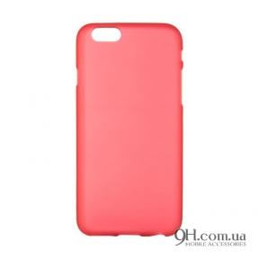 Чехол-накладка TPU для iPhone 6 / 6s Red