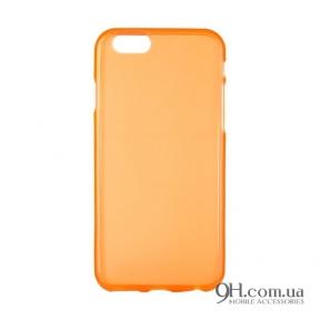 Чехол-накладка TPU для iPhone 6 / 6s Orange