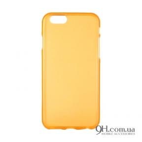 Чехол-накладка TPU для iPhone 6 / 6s Gold