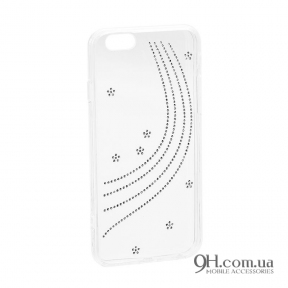 Чехол-накладка Younicou Diamond Silicone для iPhone 6 / 6s Milky Way