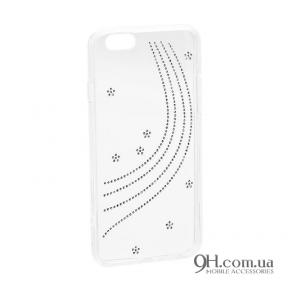 Чехол-накладка Younicou Diamond Silicone для iPhone 5 / 5s / SE Milky Way