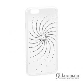 Чехол-накладка Younicou Diamond Silicone для iPhone 5 / 5s / SE Sun Shine