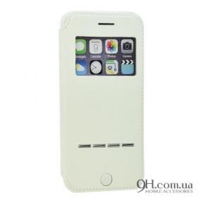 Чехол-книжка G-Case для iPhone 5 / 5s / SE White