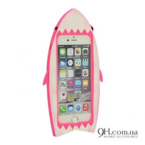 Чехол-накладка Disney для iPhone 6 / 6s Shark Pink