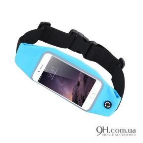 "Чехол-сумка для телефона Universal Belt-Case Blue 4 - 6"""
