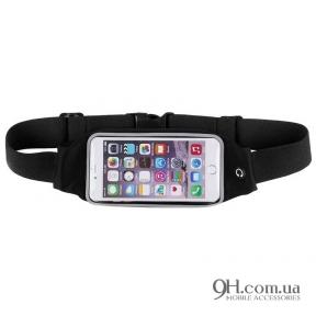 "Чехол-сумка для телефона Universal Belt-Case Black 4 - 6"""