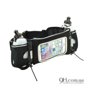 "Чехол-сумка для телефона Universal Professional Belt-Case with 2 bottles 5.3 - 5.7"""