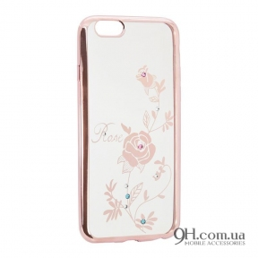 Чехол-накладка Beckberg Breathe Series для iPhone 5 / 5s / SE Rose