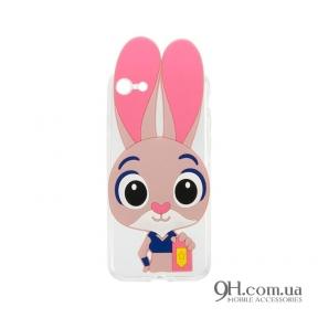 Чехол-накладка Зверополис Rabbit для iPhone 4s / 4