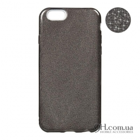 Чехол-накладка Remax Glitter Silicon Case для iPhone 6 Plus / 6s Plus Black