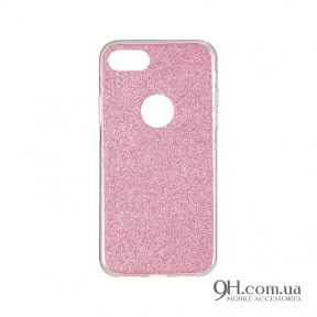 Чехол-накладка Remax Glitter Silicon Case для iPhone 6 / 6s Pink