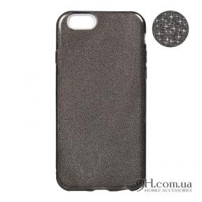 Чехол-накладка Remax Glitter Silicon Case для iPhone 5 / 5s / SE Black