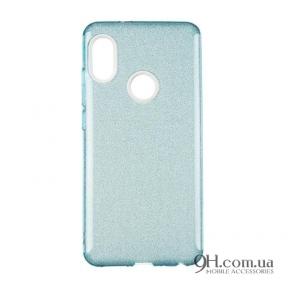 Чехол-накладка Remax Glitter Silicon Case для iPhone 5 / 5s / SE Blue