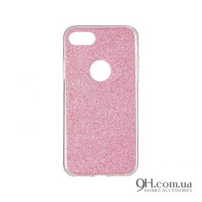 Чехол-накладка Remax Glitter Silicon Case для iPhone 5 / 5s / SE Pink