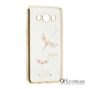 Чехол-накладка Beckberg Breathe Series для iPhone 5 / 5s / SE Dragonfly