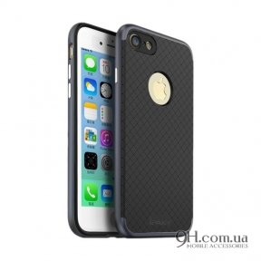 Чехол-накладка iPaky Carbon TPU + Bumper для iPhone 6 / 6s Grey