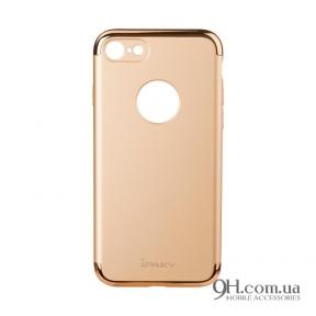Чехол-накладка iPaky Mattle TPU with Chrome для iPhone 5 / 5s / SE Gold