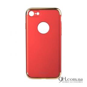 Чехол-накладка iPaky Mattle TPU with Chrome для iPhone 5 / 5s / SE Red