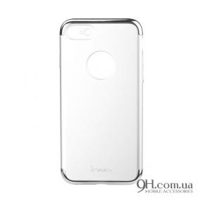 Чехол-накладка iPaky Mattle TPU with Chrome для iPhone 6 / 6s Silver
