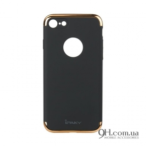 Чехол-накладка iPaky Mattle TPU with Chrome для iPhone 6 / 6s Black
