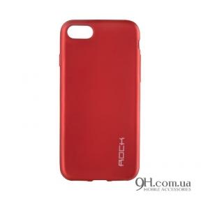 Чехол-накладка Rock Matte Series для iPhone 5 / 5s / SE Red