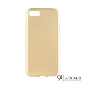 Чехол-накладка Rock Matte Series для iPhone 5 / 5s / SE Gold