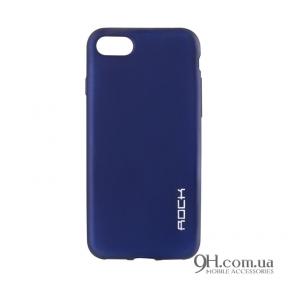 Чехол-накладка Rock Matte Series для iPhone 5 / 5s / SE Blue