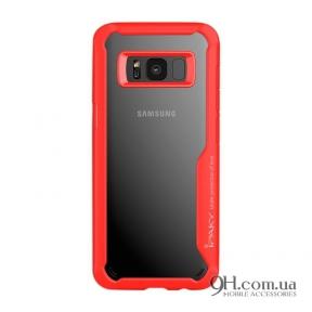 Чехол-накладка iPaky Survival TPU + Bumper для Samsung S8 Plus (G955) Red