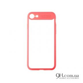 Чехол-накладка iPaky Mirror TPU + Bumper для iPhone 6 / 6s Pink