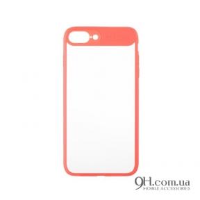 Чехол-накладка iPaky Mirror TPU + Bumper для iPhone 6 Plus / 6s Plus Pink
