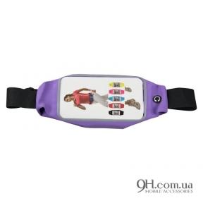 """Чехол-сумка для телефона Universal Belt-Case Violet 4 - 6"""""""