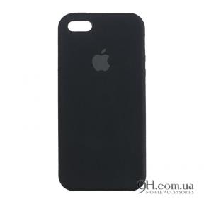 Чехол-накладка Original Soft Case для iPhone 5 / 5s / SE Black