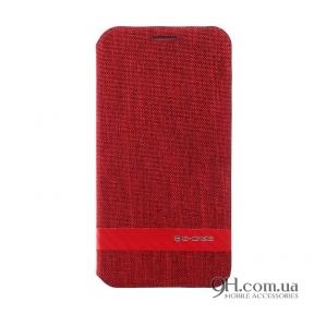 Чехол-книжка G-Case Funky Series Flip Case для iPhone X / XS Red
