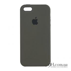 Чехол-накладка Original Soft Case для iPhone 5 / 5s / SE Grey