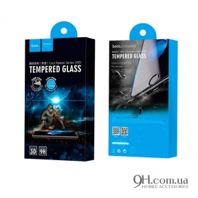 Защитное стекло Hoco Radian Series 3D для iPhone X / XS Black