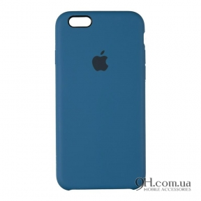 Чехол-накладка Original Soft Case для iPhone 6 / 6s Dark Blue