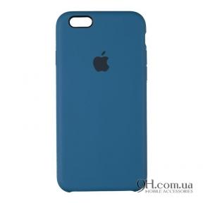 Чехол-накладка Original Soft Case для iPhone 6 Plus / 6s Plus Dark Blue