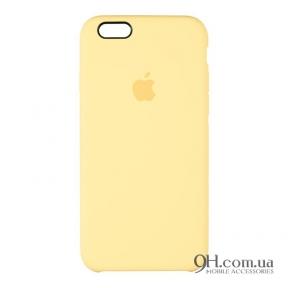 Чехол-накладка Original Soft Case для iPhone 5 / 5s / SE Yellow