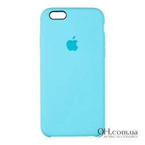 Чехол-накладка Original Soft Case для iPhone 6 Plus / 6s Plus Light Blue