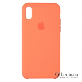 Чехол-накладка Original Soft Matte Case для iPhone X / XS Orange