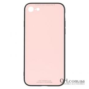 Чехол-накладка iPaky Glass Series для iPhone 6 / 6s Pink