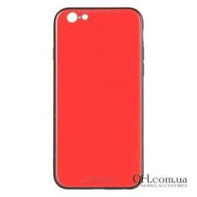 Чехол-накладка iPaky Glass Series для iPhone 6 Plus / 6s Plus Red