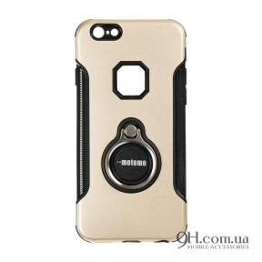 Чехол-накладка Motomo Ring Case для iPhone 6 / 6s Gold