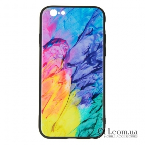 Чехол-накладка iPaky Glass Print для iPhone 6 / 6s Graf