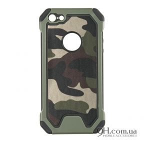 Чехол-накладка Rock Military Proof Series для iPhone 5 / 5s / SE With Pattern