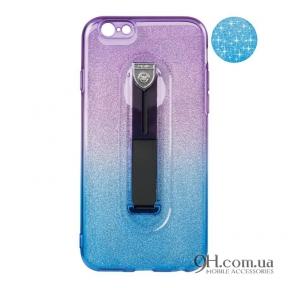 Чехол-накладка Remax Glitter Hold Series для iPhone 6 / 6s Blue/Violet