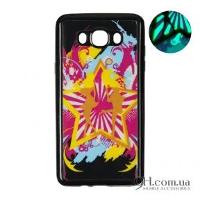 Чехол-накладка Remax Night Series для iPhone 5 / 5s / SE Black Disco